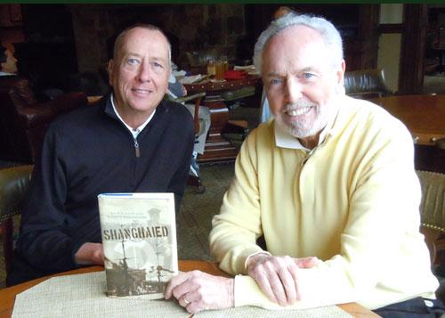 Academy Award Winner Barry Morrow and David Collins, author of Shanghaied.